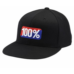 CASQUETTE 100% 210 FITTED NOIR