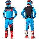 TENUE FOX RACING FLEXAIR LIBRA BLEU 2016