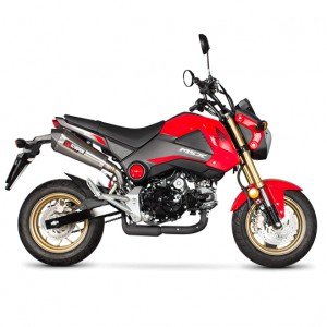 SILENCIEUX SCORPION SERKET RED POWER HONDA MSX 125