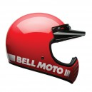 CASQUE BELL MOTO 3 CLASSIC BLANC