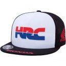 CASQUETTE FOX RACING FLEXFIT HONDA ROUGE/NOIR