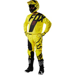 TENUE ENFANT FOX RACING 180 MASTAR JAUNE 2018