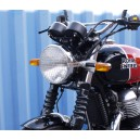 PORTE PAQUET NOIR ROYAL ENFIELD TWIN 650